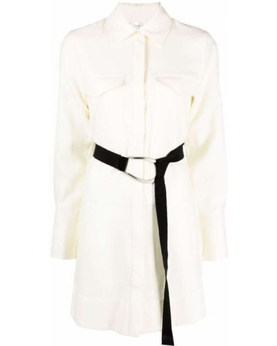 Белое шерстяное платье макси Victoria, Victoria Beckham