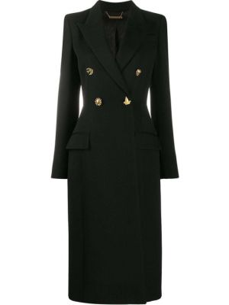 Шерстяное белое пальто с капюшоном Givenchy