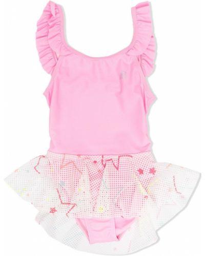 Różowa spódnica z siateczką Billieblush