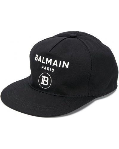 Czapka z logo klasyczny Balmain Kids