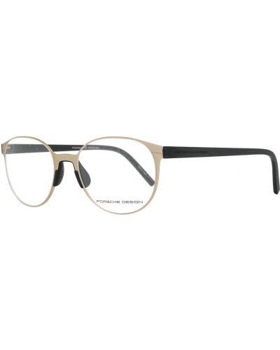 Beżowe okulary Porsche Design