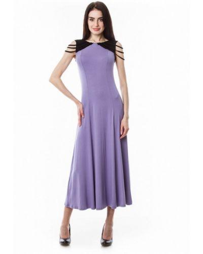 Фиолетовое вязаное платье Vergans