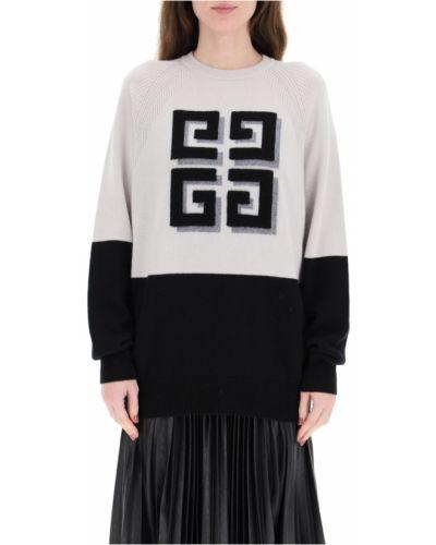 Długi sweter z raglanowymi rękawami Givenchy