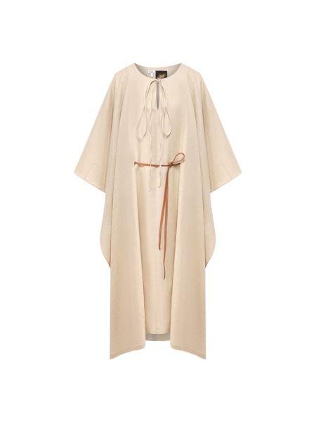 Платье с поясом Loewe