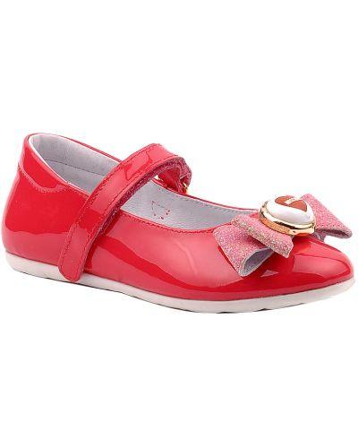 Розовые туфли лаковые Moschino