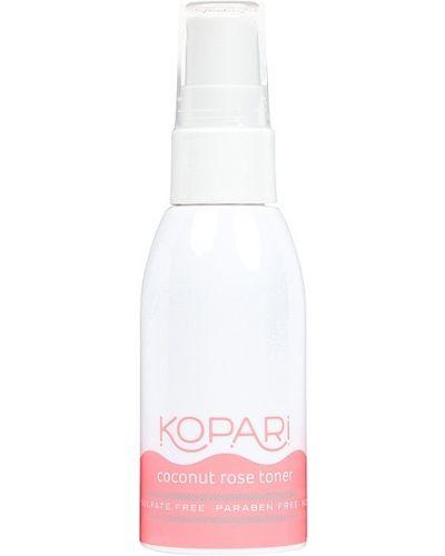 Fioletowy bawełna bezpłatne cięcie toner do twarzy przycięte Kopari