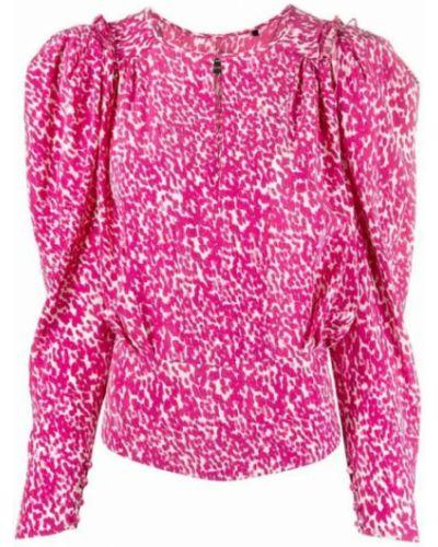 Różowa koszula Isabel Marant
