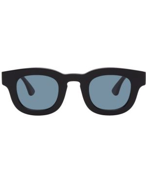 Черные солнцезащитные очки круглые с завязками Thierry Lasry