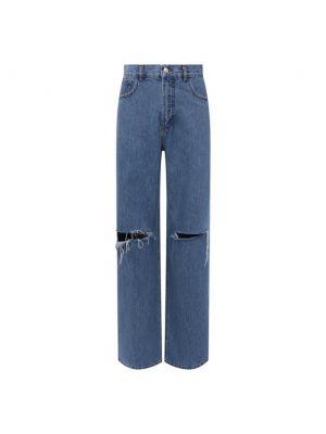 Хлопковые джинсы - синие Forte Dei Marmi Couture