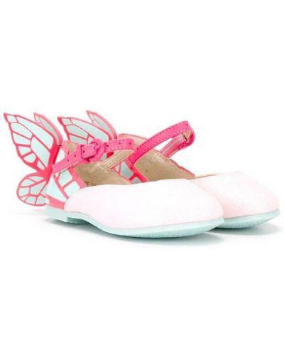 Балетки розовый Sophia Webster Mini