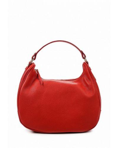 Красная сумка-хобо Lamania