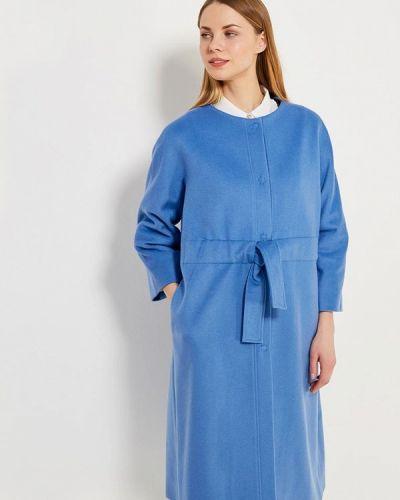 Голубое пальто весеннее Parole By Victoria Andreyanova