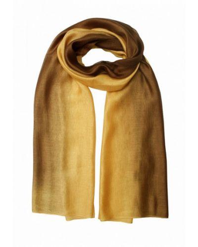 Палантин золотого цвета Le Motif Couture