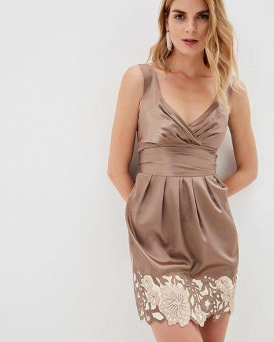 Вечернее платье - коричневое Ricamare
