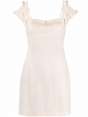 Sukienka mini - biała Jacquemus