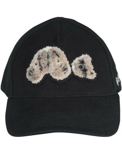 Czarna czapka z daszkiem Palm Angels