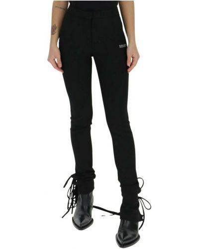 Spodnie rurki - czarne Off-white