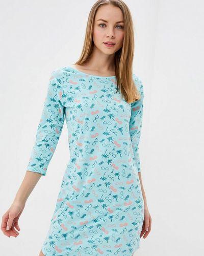 Бирюзовое платье Vis-a-vis