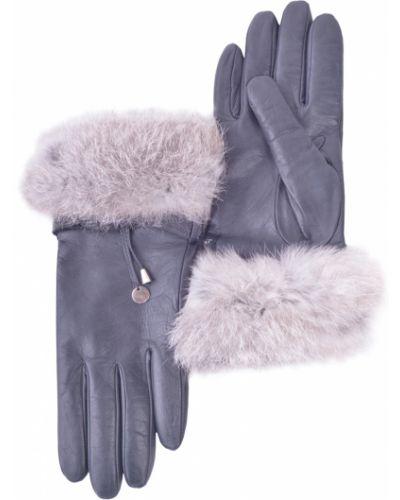 Серые перчатки Armani Jeans