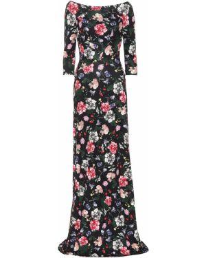 Летнее платье с цветочным принтом весеннее Erdem
