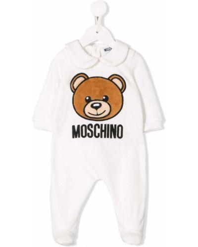 Пижама повседневный с воротником Moschino Kids