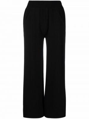 Укороченные брюки - черные Lamberto Losani