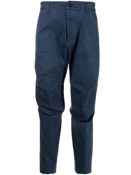 Przycięte spodnie, niebieski Dsquared2