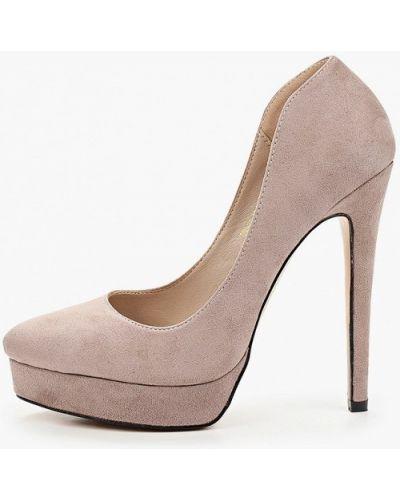 Серые туфли-лодочки Diora.rim