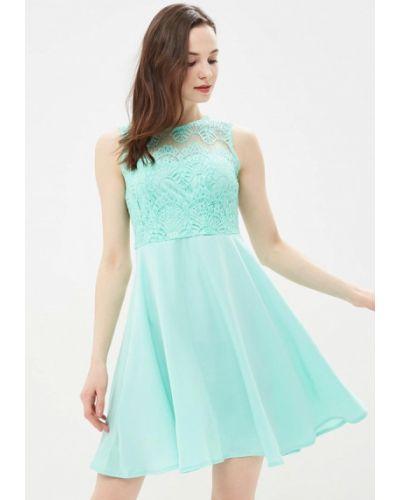 Бирюзовое платье весеннее Incity