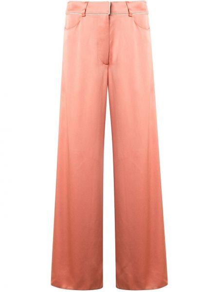 Укороченные брюки с завышенной талией палаццо Peter Pilotto