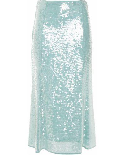 Spódnica midi z cekinami z szyfonu Veronica Beard