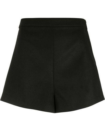 Черные с завышенной талией шорты на молнии Nk