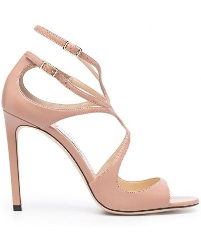 Różowe sandały z paskiem Jimmy Choo