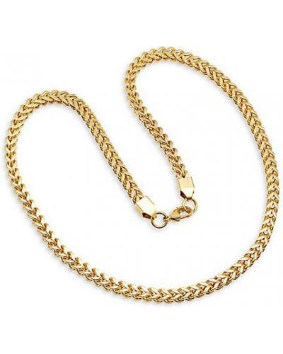 Złoty łańcuch ze złota pozłacany Anthony Jacobs