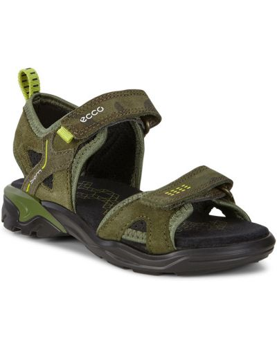 Сандалии на каблуке кожаный Ecco