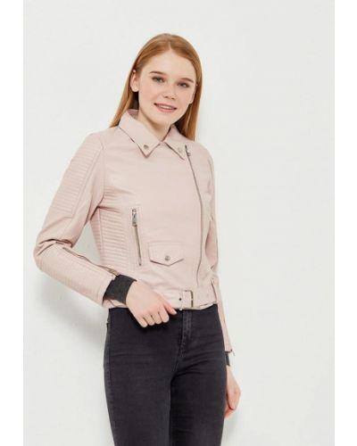 Розовая куртка Grand Style