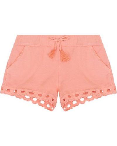 Розовые шорты Chloé