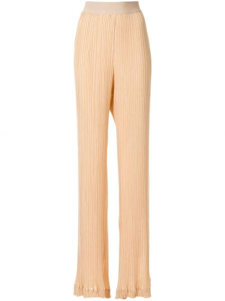 Плиссированные свободные брюки со складками Litkovskaya