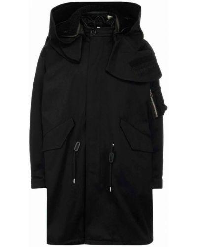 Płaszcz - czarny Burberry