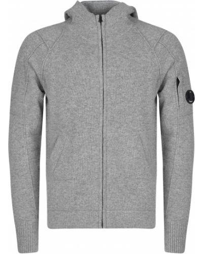 Кофта шерстяная серый C.p. Company