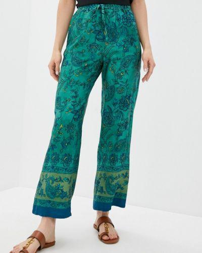 Повседневные зеленые брюки Seventy