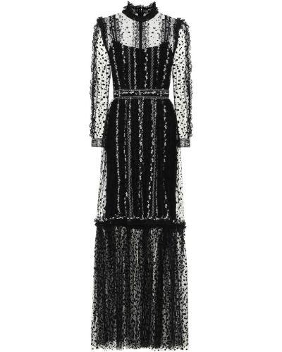 Платье из фатина Costarellos
