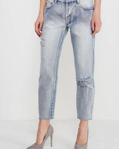 Прямые джинсы голубой Lost Ink.