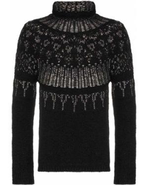 Черный свитер свободного кроя Martin Diment