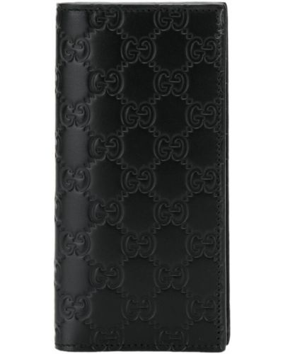 Кошелек кожаный с логотипом Gucci
