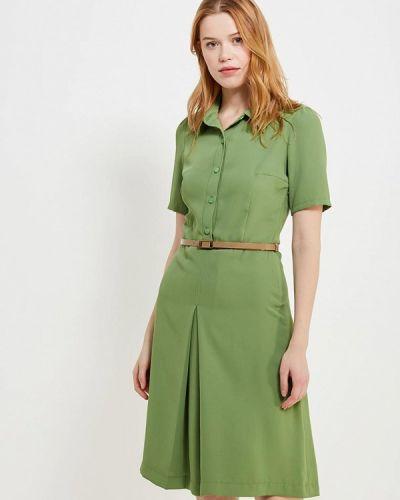 Зеленое платье Gregory