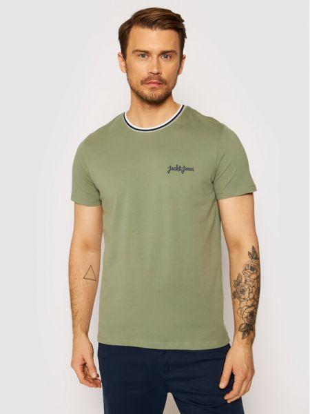 Zielony t-shirt Jack&jones