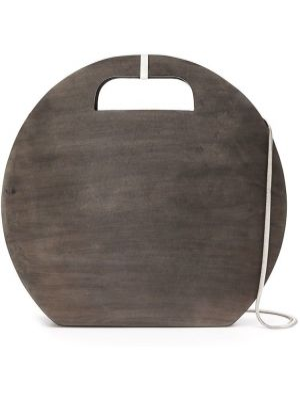 Черная сумка на цепочке круглая Cecchi De Rossi