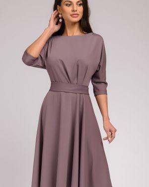 Повседневное платье с поясом на молнии 1001 Dress