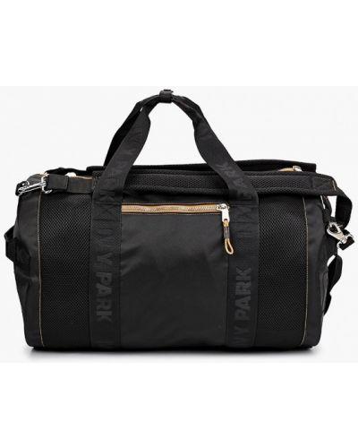 Нейлоновая черная спортивная сумка Adidas Originals